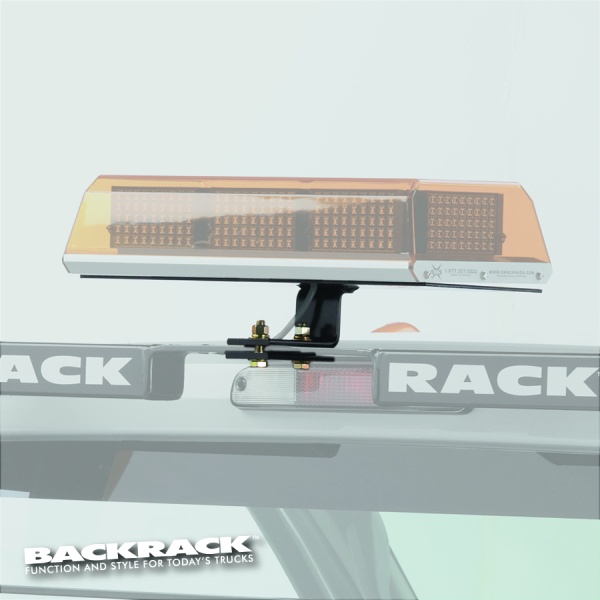 "BACKRACK™ 91002RCUS  Mini Lightbar Bracket  16""x7"" Rectangle Centre"