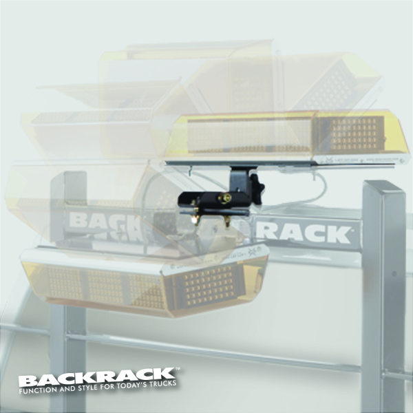 "BACKRACK™  91002RECF Folding  Light Bracket  16"" x 7"" Centre Mount"