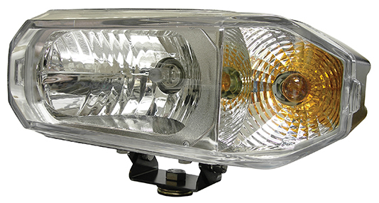 Hamsar 81091 Snow Plow Light Combination Headlight  Dual High/Low Bulb