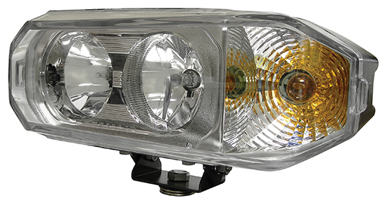 Hamsar 81091/2 Snow Plow Light  Combination Headlight Dedicated High/Low Bulb