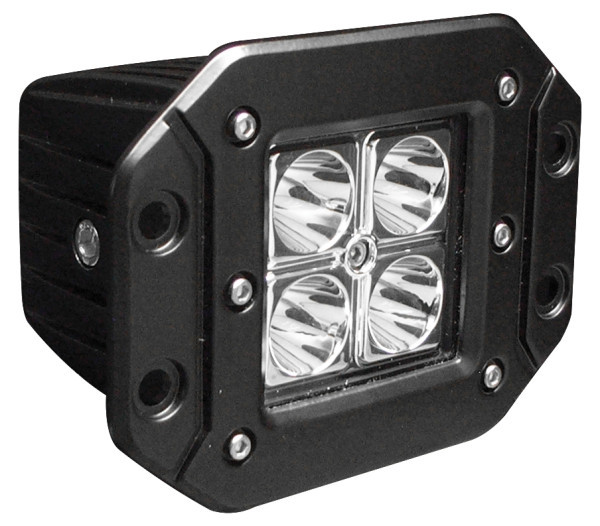 Hamsar 81725 LED Flush Mount Work Light, Spot Beam Pattern