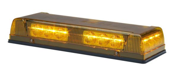 Whelen R1LPPA Responder 1 LED Mini Lightbar, Amber