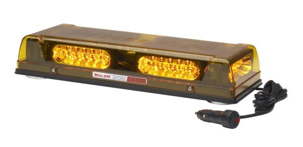 Whelen R2LPPA Responder R2LP Series Mini Lightbar, Amber