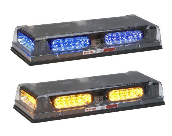 Whelen®  Responder® R2LP Series  DUO™ Amber/Blue  LED Mini Lightbar