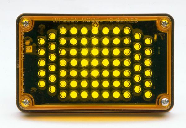 Whelen 400 Series 5mm LED Trun Signal Light 40A00AAR
