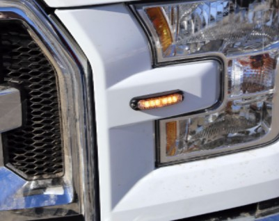 Truck with Whelen LED Micron Series Lighthead