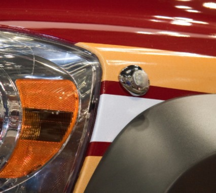Whelen®  Vertex™ Series   Super-LED® Lighthead Warning