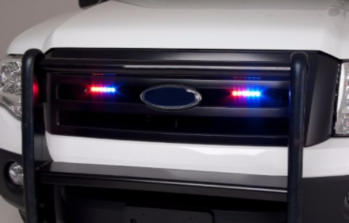 Law Enforcement Vehicle with ION Series Lightheads