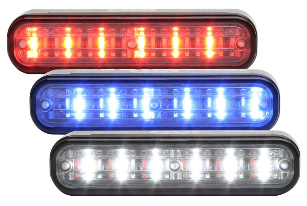 Whelen®  ION TRIO™Series  Super-LED® Lighthead Warning
