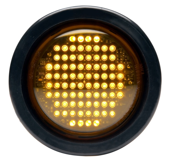 "Whelen® 2G   4"" Round 5mm LED Lighthead - Warning"