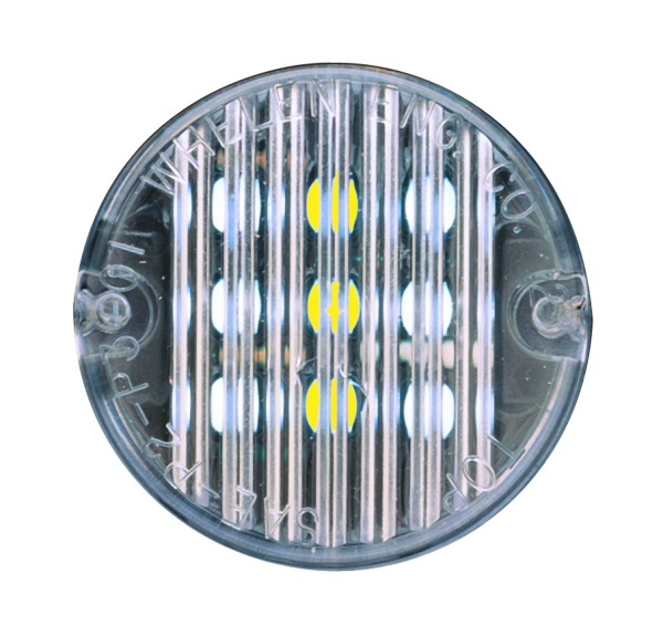 "Whelen® 2"" Round 5mm LED Lighthead Interior Lighting"