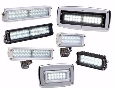 Whelen®  Pioneer SlimLine™ Series  Super-LED® Work Lights