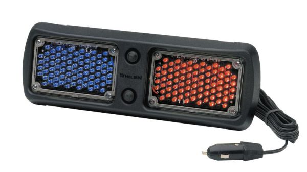 Whelen FLLEDRB FlatLighter interior light, Red and Blue