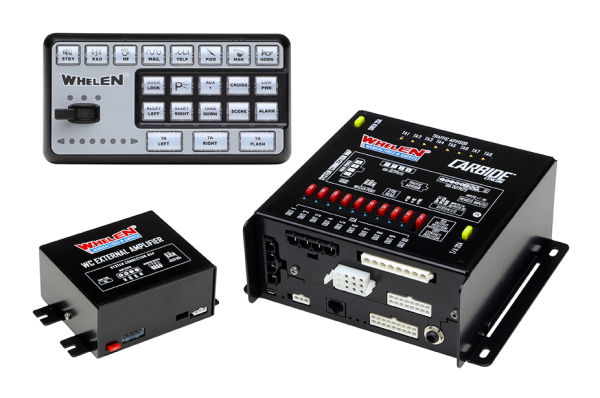 Whelen®  CenCom Carbide™ Remote Light and  Siren Control System