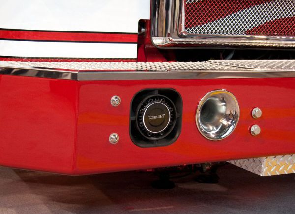 Fire Truck with Whelen SA315P Speaker