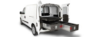 Van with Cargo Ease Cargo Locker