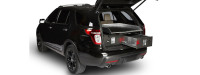 SUV with Cargo Ease Cargo Locker