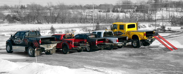 Trucks with Cargo Ease Bed Slides