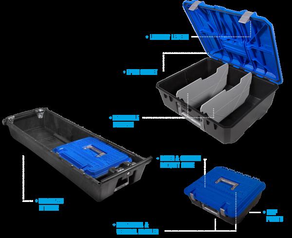 DECKED D-BOX Weatherproof Tool Box