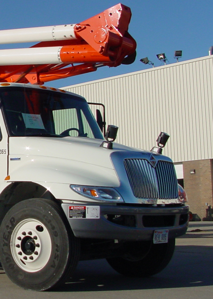 Utility Truck with KH Industries Nightray2 Spot Light
