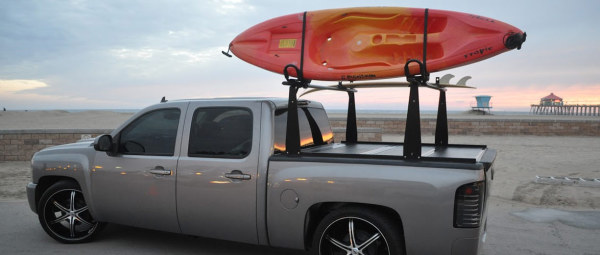 Truck Accessories:  Rack Integrated Truck Bed Covers