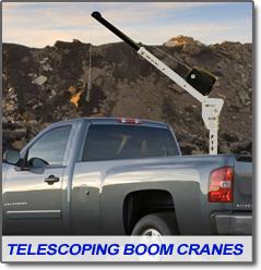 Western Mule Telescoping Boom Crane