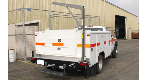 Western Mule Fold-A-Way Bumper Crane, S-Series