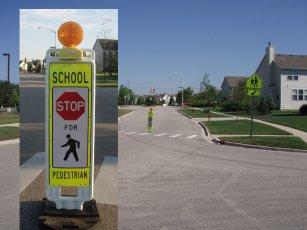 Empco-Lite Warning Flare Light - School Zone