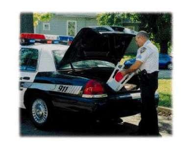 Empco-Lite Emergency Flare Light - Police Application