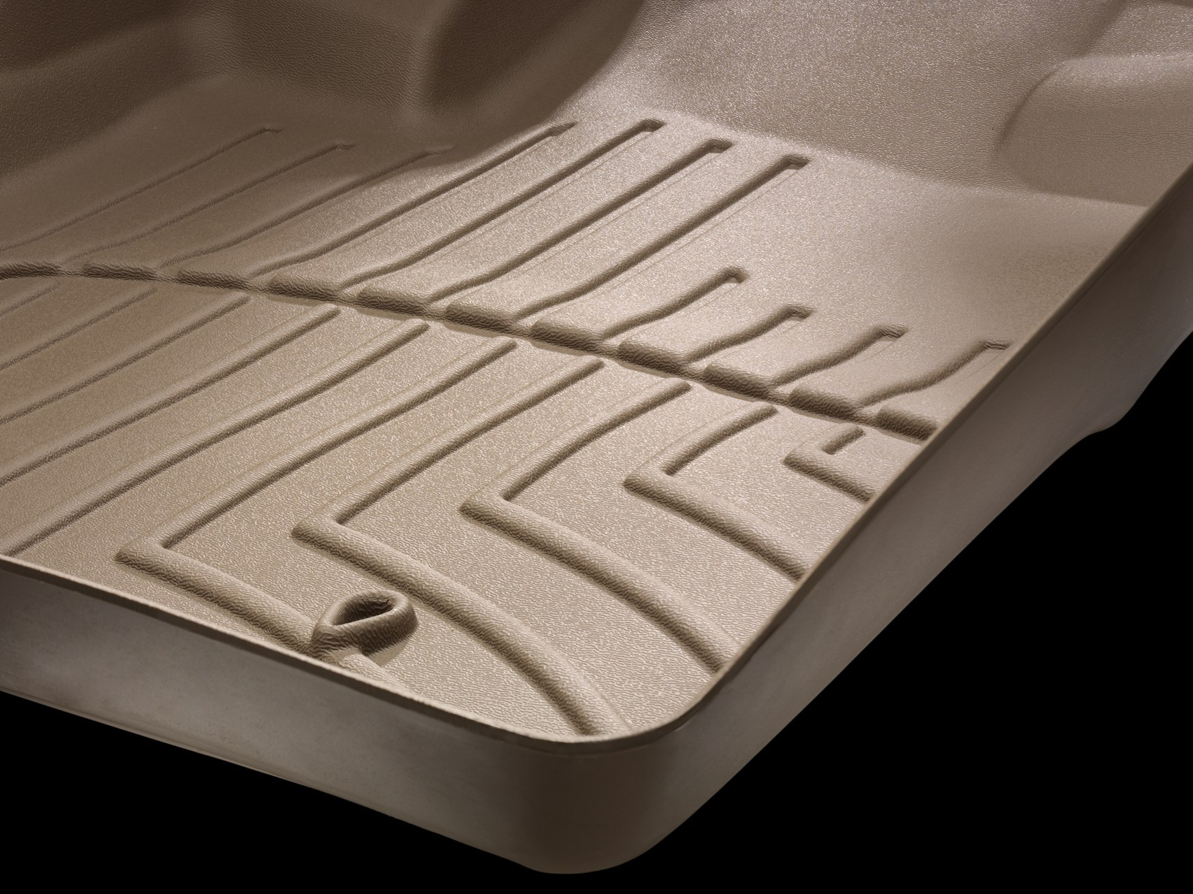 WeatherTech tan floor liner