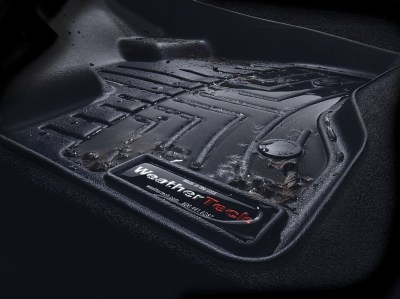 Magnified image of WeatherTech floor liner