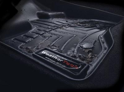 Magnified image of WeatherTech floor liner
