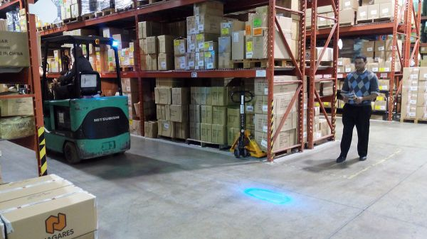 Forklift Warning Light Blue LED