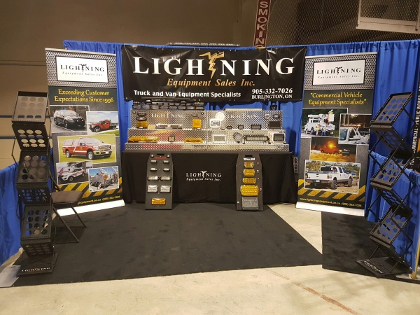 Lightning Equipment Trade Show Display
