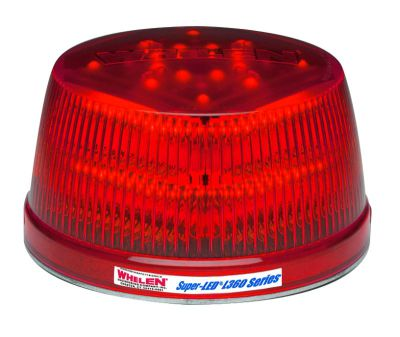 Whelen L31HRF  Red LED Beacon