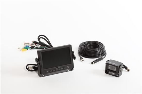 "Mobile Awareness 1103 Wired Single Camera System with 7.0"" Monitor"