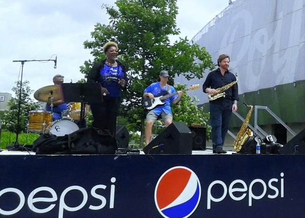 J Love Band at Kauffman Stadium