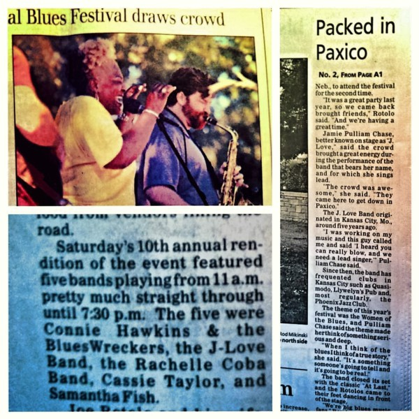 J Love Band makes headlines