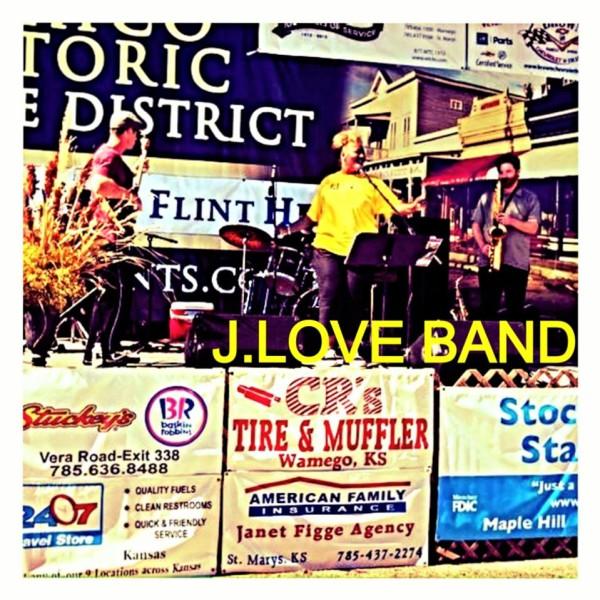 J Love Band layin' it down