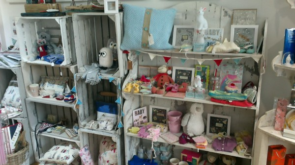 Bunting and craft section