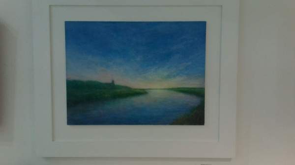 """Blythburgh Sunset"" by our resident artist"