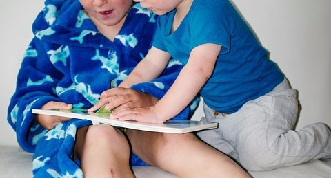 Have Child Read to Siblings
