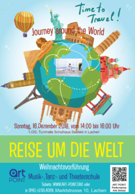 Journey Around the World/ Reise um die Welt