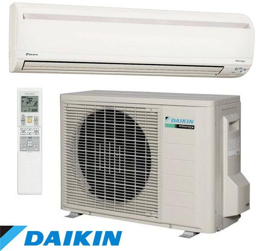 Daikin heatpump installation