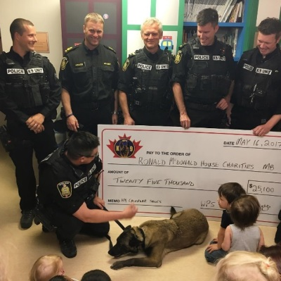 K9 Unit Calendar Raises 25K For Ronald McDonald House