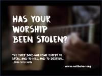 Has Your Worship Been Stolen?
