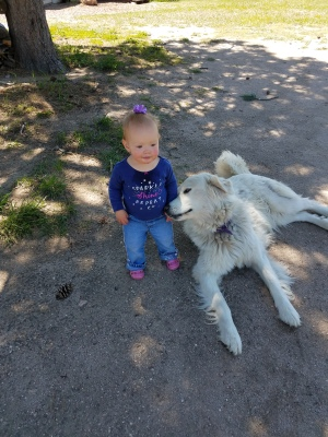 Lil & granddaughter