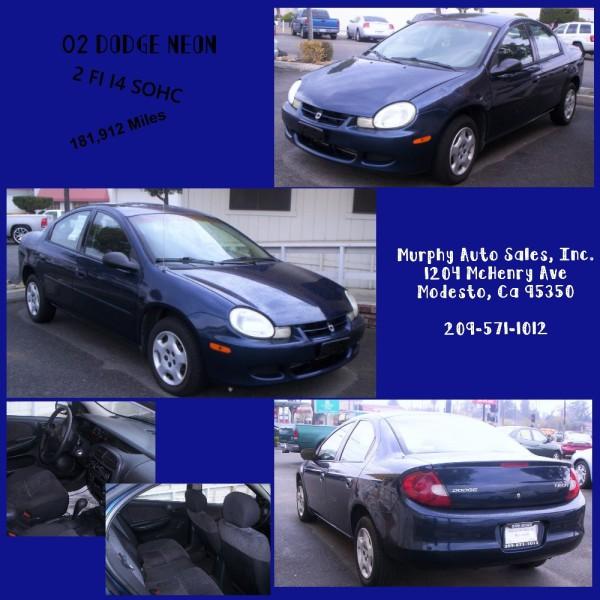 2002 Dodge Neon - $3,995
