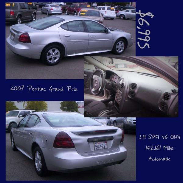 2007 Pontiac Grand Prix - $6,995
