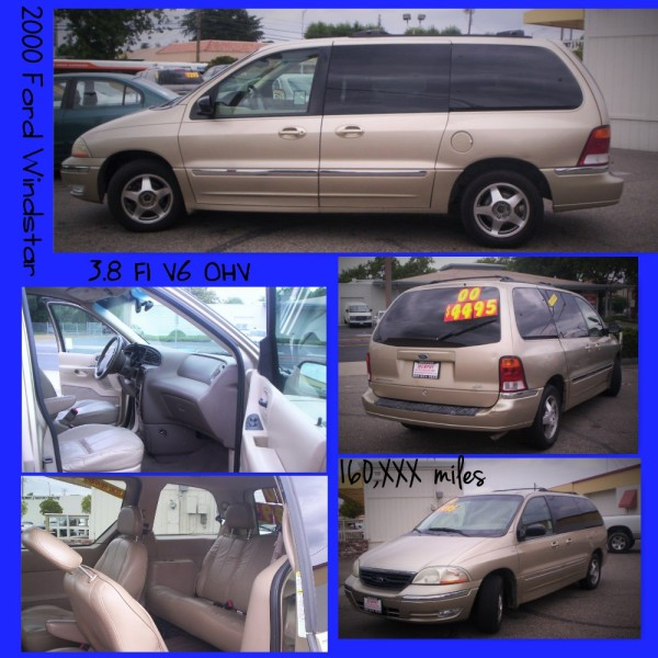 2000 Ford Windstar - $4,495